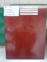 Office Furniture MDF Board Paint / UV Wood Clear Lacquer