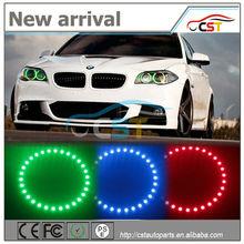 New model 20 colors DC9~15V SMD5050 halo rings led angel eyes headlights