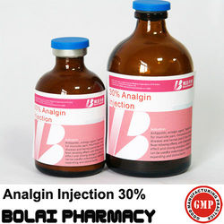 Analgin injection 30% china new product for veterinary medicine