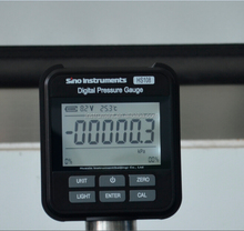 hs108 precision manometer with bar psi kpa units