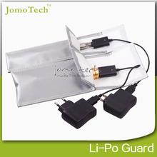 JOMO ego battery charge bag Li-Po safe charging bag proof explosion/fire for vaporizer pen
