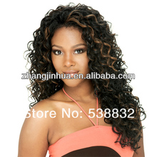 Beautiful new style natural jerry curl hair wave any color Indian hair weft