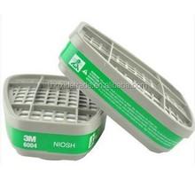 3M Organic Vapor Respirator Cartridges 3M 6004