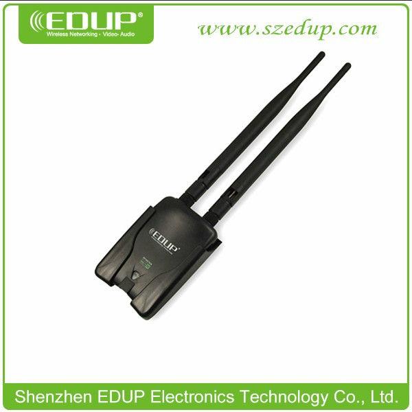 300 mbps EDUP EP-MS1539 5372 Chipset alta potencia de doble antena Wifi adaptador de tarjeta de red inalámbrica