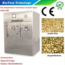 High Efficient Microwave Dehydrator for Flower Tea /Alice +8618910671509