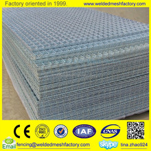 Heavy guage galvanized welded wire mesh fence panel