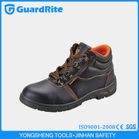GuardRite brand genuine leather steel toe safety shoes manufacturer