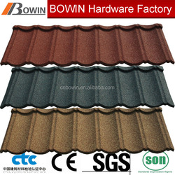 classic stone coated metal roof tile /longspan roof /roof price