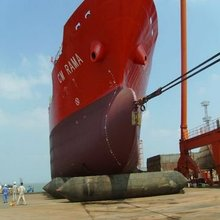 Marine Airbags use for ship launching or upgrading