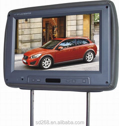 11 inch easy install headrest dvd with touch panel