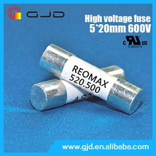 High quality 500V 5*20mm 200mA thermal fuse