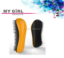 2015 My girl tangle brush for Human hand tools Profession boar bristle wooden hair brush Japanese comb