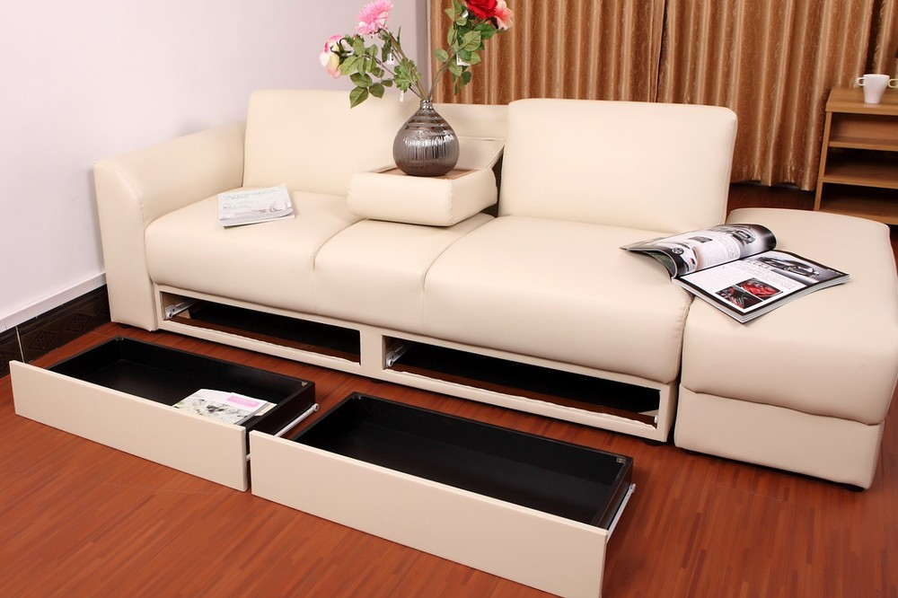 2015 Wooden Sofa Bed Hot Selling Living Room Sofa Wooden Sofa Cum Bed Designs