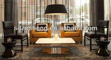 ZH-D111 cheap wood hotel lobby furniture make in Foshan