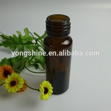 60ml medicamento de color ámbar de la botella de vidrio al por mayor