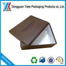 Luxurious biodegradable Cardboard Packaging Box Paper