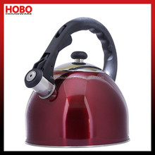2.0L 201Stainless Steel Red Whistling Kettle Tea Kettle