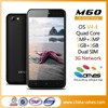 OEM Factory unlock 5.0inch quad core 1G+8G /2mp+5mp all cell phones