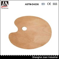 High quality oval wooden palette
