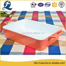 2015 new design stoneware chinese manufacturer bakeware