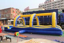 2015 high quality giant cars inflatable slide n slip