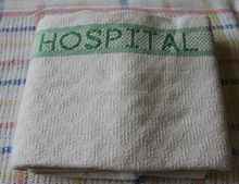 100% cotton cellular thermal hospital blanket