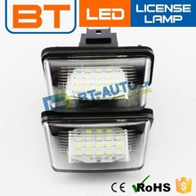 Car Canbus Led License Plate Light /License Plate Lamp Assembly