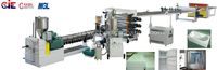 ABS / HIPS / PMMA Board plastic extrusion machine