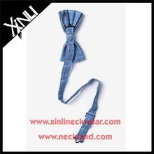 Silk PreTied Men Handmade Ribbon Bow Tie