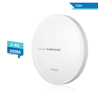 ceiling-mounted indoor wireless router 300Mbps 2.4Ghz wifi cpe/ap