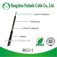 low db loss rg11 for satellite system