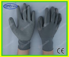 Preferential price concessional rate coated glove Nylon /poly cotton coated glove