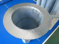 China suppliers New technology conical coconut oil strainer filter element for sale