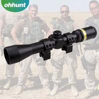 Trijicon 3-9x40 Long eye relief riflescope hunting with Fiber optics