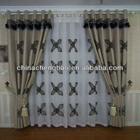 China tab top cafe curtains