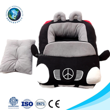 Wholesale luxury pet dog bed soft pet home washable car shaped plush luxury pet bed