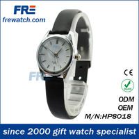High quality water resistant transparent strap watch alloy watch