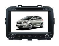 8inch high quality double din in dash car radio tv for Carens with mp3/navigation system