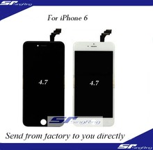 White LCD Screen + Touch Digitizer + Frame Assembly For iPhone 6 4.7''