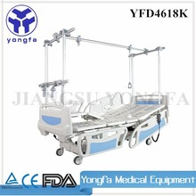 YFD4618K ISO CE Approved Hospital Bed For Patient therapy traction bed