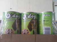 Pet food with lamb can for puppy dog no artifical flavours