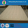 8mm e2 ash veneer mdf for furniture and cabinet