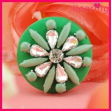fancy plastic rhinestone buttons for children's clothing WBK-1414