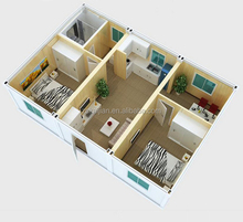 quality portable house/ sandwich container/ container house luxury