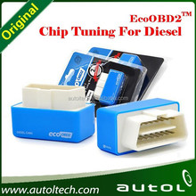 2015 Newest High Quality ECOOBD2 Chip Tuning Box Plug and Drive EcoOBD2 Economy for Diesel Cars 15% Fuel Save with Free Shipping