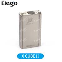 Elego New Hot Sale Original Temp Control Smok X Cube 2 160W Box Mod Black/Silver