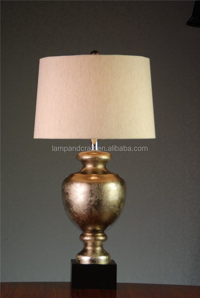 Novelty Lamp Bases : Mass Products Novelty Table Lamp For Hotel Design With Solid Base And Gold Glass Lampstand - Buy ...