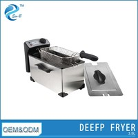 Stainless Steel Design Auto Home Chips Fryer
