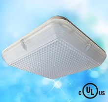 meanwell driver IP65 FCC UL cUL led surface mounted outside round or square ceiling light photocell available