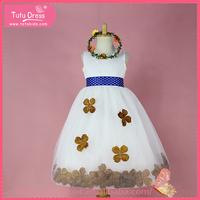 Girls party dresses woolen dress for summer, fashion kids girls dresses, dresses for girls of 1-9 years old